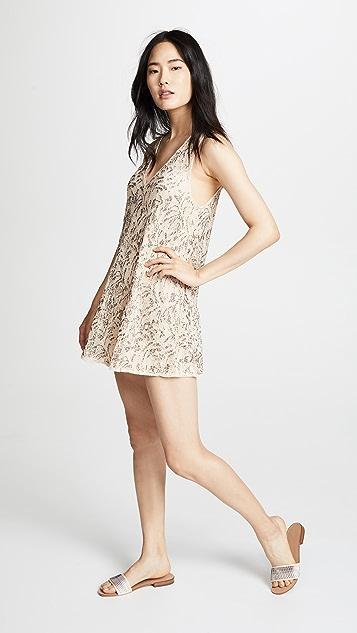Free People Shine On Mini Dress