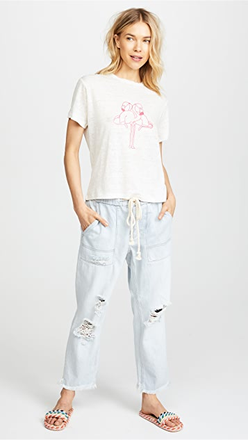 Free People Northern Sky Pull On Crop Pants