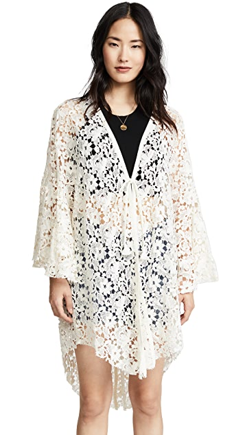 Free People Move Over Lace Robe
