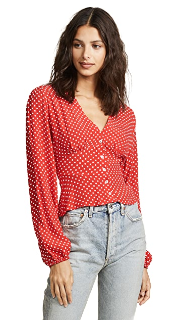 Free People Love Street Top