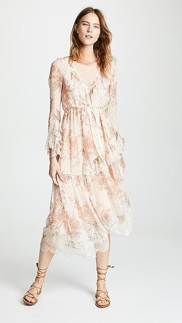 Free People Eliza Midi Dress