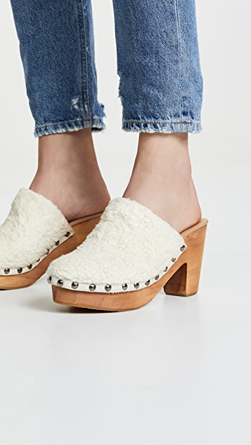 Free People Cozy Cottage Clog