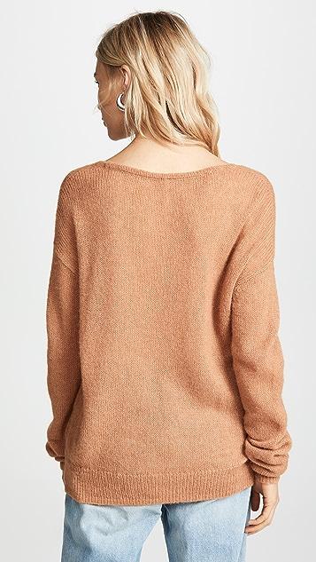Free People Gossamer V Neck Sweater