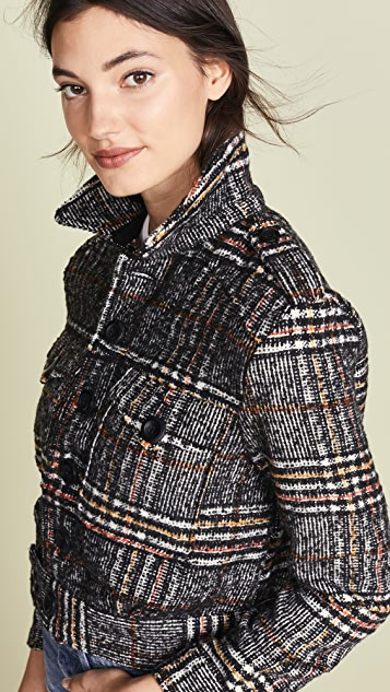 Free People Eisenhower Slouchy Jacket