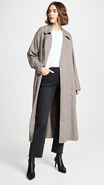 Free People Melody Menswear Trench