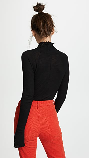 Free People Make It Easy Thermal Sweater