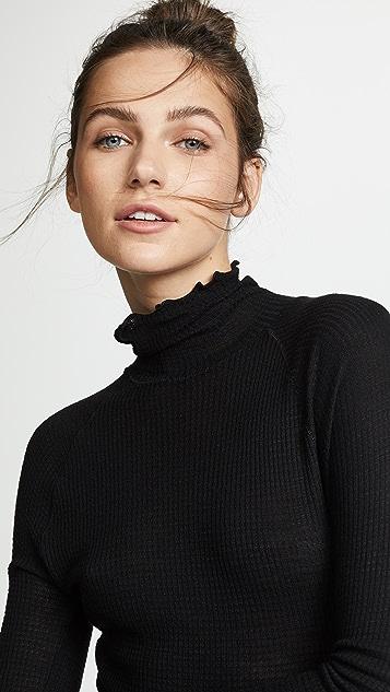 Free People Теплый свитер Make It Easy