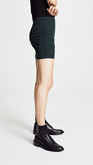 Free People Modern Femme Tartan Skirt