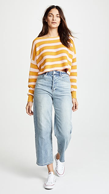 Free People Wales Wide Leg Jeans