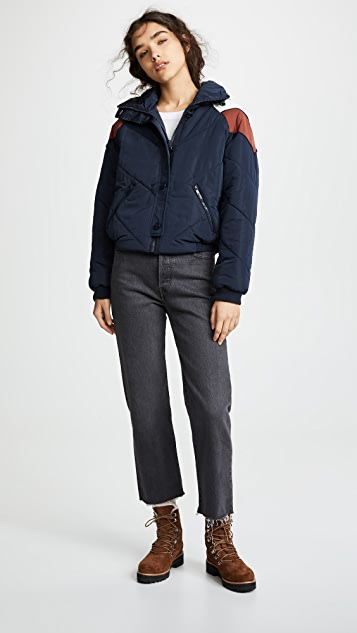 Free People Heidi Ski Puffer Jacket