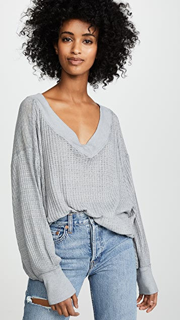 Free People South Side Thermal Top  f16721998