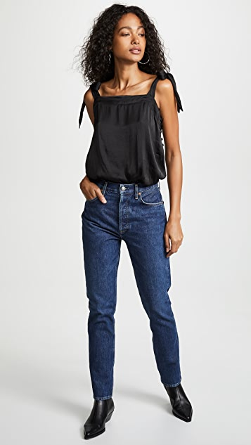 Free People Ties Over Guys Bodysuit