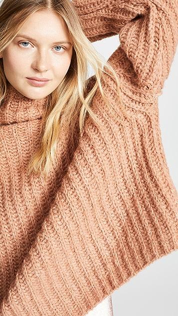Free People Fluffy Fox Sweater