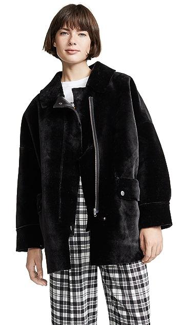 Free People Lindsay Sherpa Coat