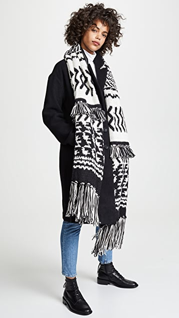 Mile High Fringe Scarf by Free People