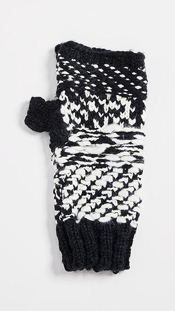 Free People Keep Cozy Knit Fingerless Gloves