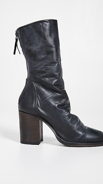 Free People Elle 粗跟短靴