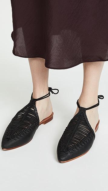 Free People Плетеные туфли на плоской подошве Dana