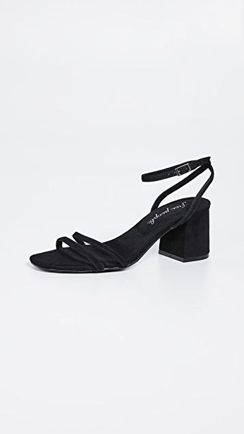 Free People Shoes Gabby Block Heel Sandals