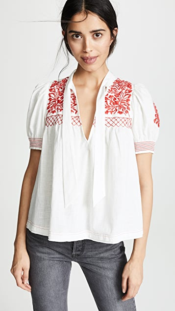 Free People Dreaming About You Top
