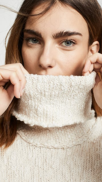 Free People Big Easy Cowl Sweater