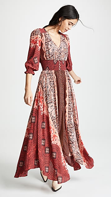 ab3f620d347 Free People Mexicali Rose Maxi