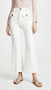 Free People Boca Bell Trousers