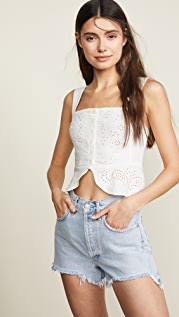 Free People I Want You Babe Tank Top