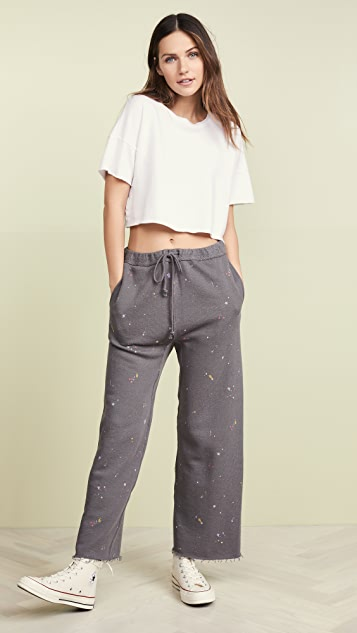 Free People Sideline Pants Printed Sweatpants