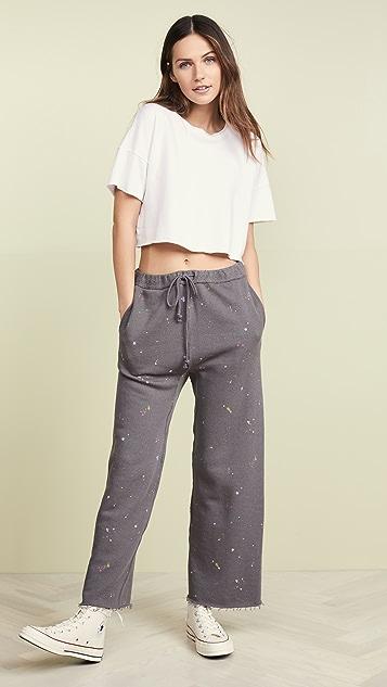 Free People Спортивные брюки Sideline с принтом