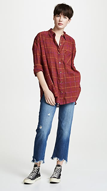 Free People Maggie Straight Leg Jeans