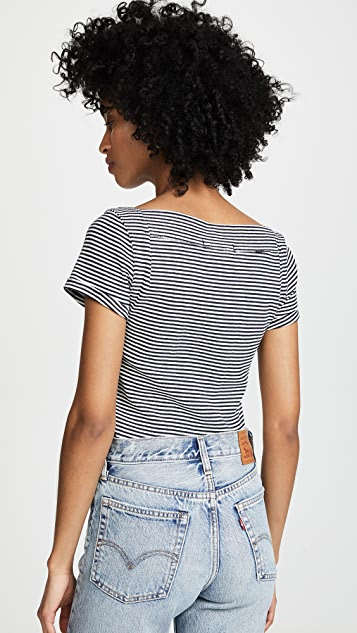 Free People Ahoy Stripe Tee