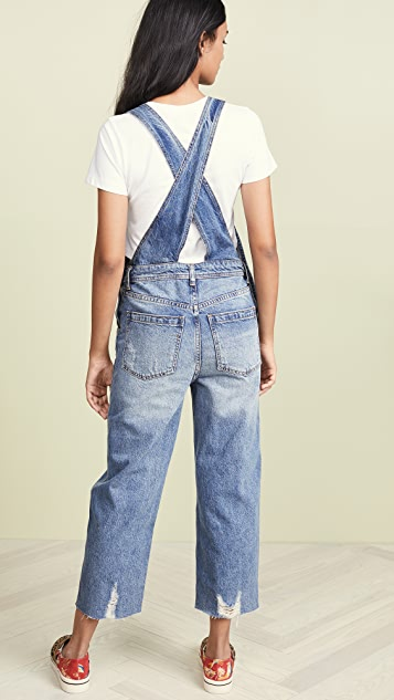 Free People Baggy BF Overalls