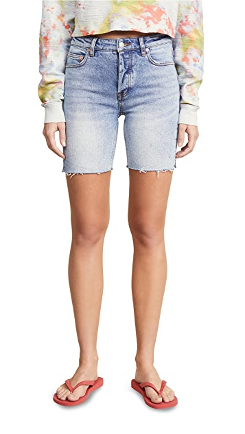 Free People Avery Bermuda Shorts
