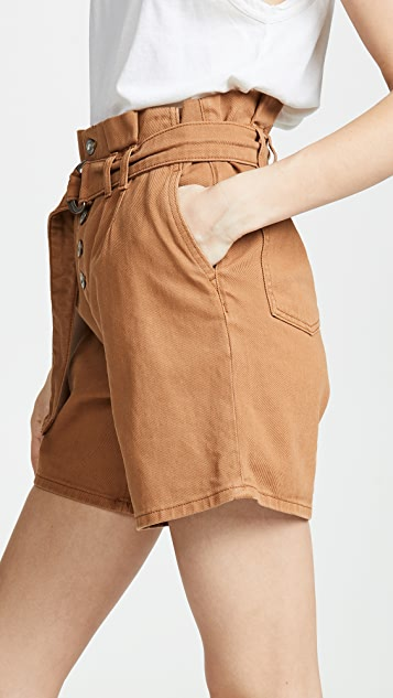 Free People Cindy Utility Shorts