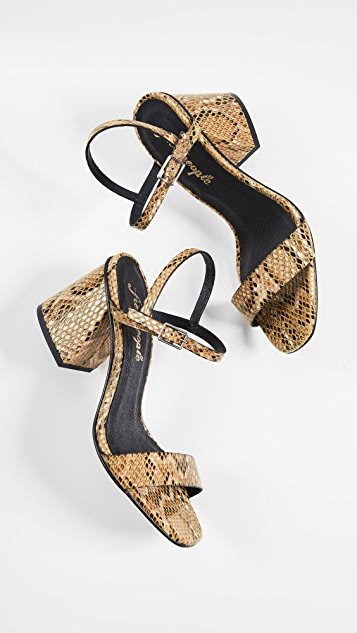 Free People Liv Block Heel Sandals