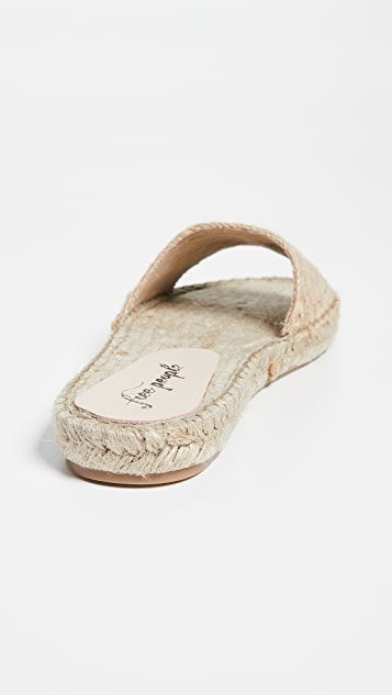 Free People Beach Front Espadrille Slides