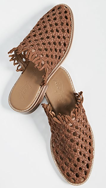 Free People Mirage Woven Flats