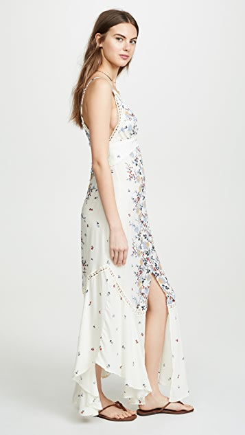 Free People Paradise Printed Maxi Dress