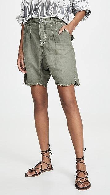 Free People Utility Harem Shorts