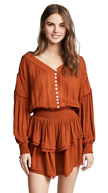 Free People The Romy Mini Dress