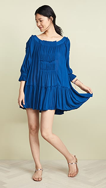 Free People Sea Ya There Mini Dress