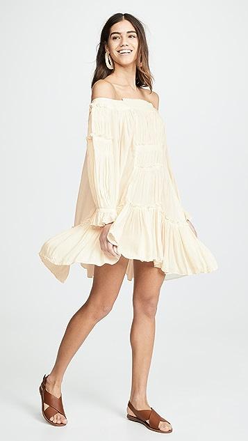 Free People Sea Ya There Mini Dress