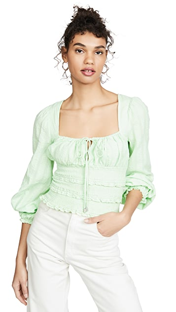 Free People Lolita Top