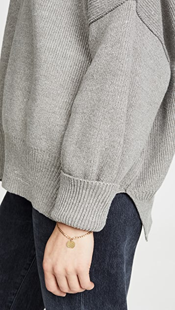 Free People Easy Street Tunic Sweater