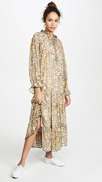 Feeling Groovy Maxi Dress by Free People