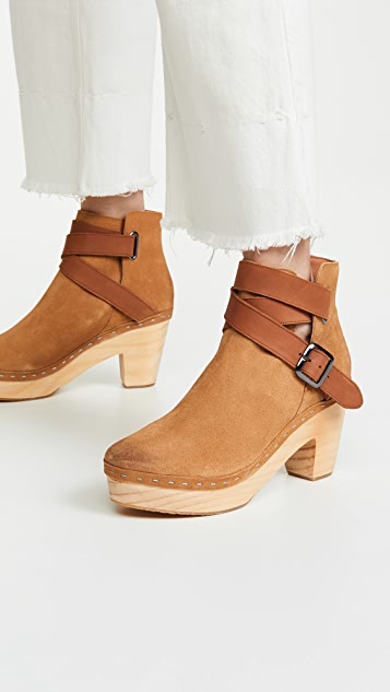 Free People Bungalow Clog Boots