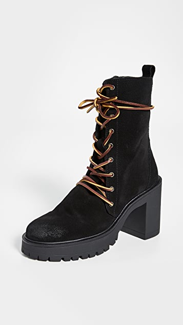 Free People Dylan Lace Up Boots