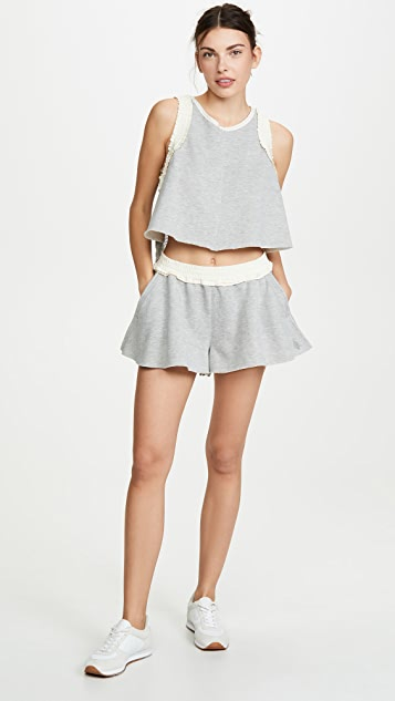 Free People Movement Ruffle Em Up 套装