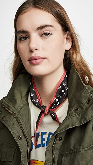 Free People Dixie Printed Hair / Neck Tie